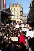 Manifestation à Metz.